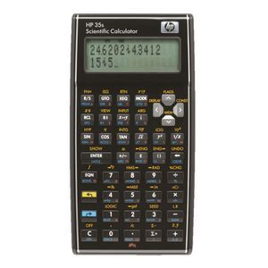 HP Scientific Calculator 35s
