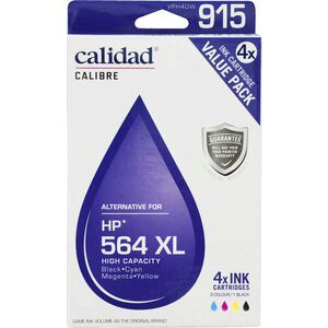 Calidad Alternative Hp 564xl Ink Cartridges 4 Pack Officeworks