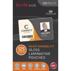 Gbc laminating pouch credit card 125 micron gloss 100 pack officeworks gbc laminating pouch credit card 125 micron gloss 100 pack reheart Choice Image