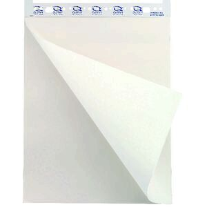 Quartet economy flipchart pad 550mm x 810mm 40 sheet officeworks