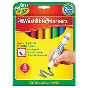 crayola my first washable markers 8 pack officeworks