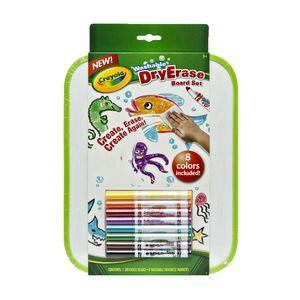 crayola dry erase board set officeworks