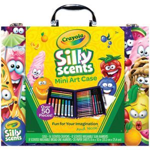 Crayola Silly Scents Mini Art Case 52 Piece