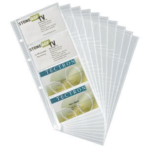 Durable visifix business card refills 10 pack officeworks durable visifix business card refills 10 pack reheart Image collections