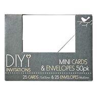 Invitation kits officeworks diyi mini cards and envelopes stopboris Choice Image