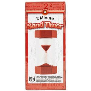 learning can be fun sand timer 2 minutes officeworks