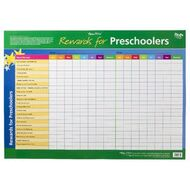 gillian miles rewards for pre schoolers and kids wall chart