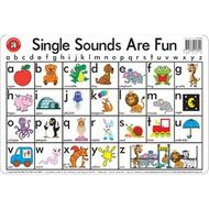 Wall charts officeworks learning can be fun desk mat single sounds are fun gumiabroncs Gallery