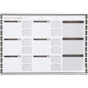 Otto A3 Weekly Business Goals Desk Planner 60 Sheet