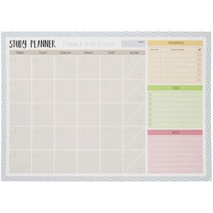 studymate a2 monthly dry erase study planner officeworks
