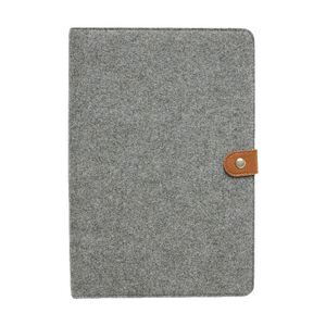 Otto a4 felt business card folder grey officeworks otto a4 felt business card folder grey reheart Image collections