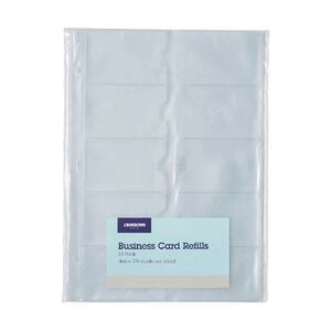 Jburrows business card refills 10 pack officeworks jburrows business card refills 10 pack reheart Image collections