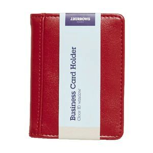 Jburrows mini business card holder red officeworks jburrows mini business card holder red reheart Gallery