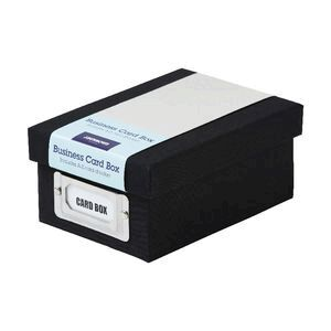 Jburrows business card storage box black officeworks jburrows business card storage box black reheart Image collections