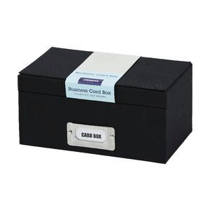 Jburrows business card box black officeworks jburrows business card box black reheart Gallery