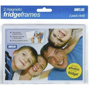 Magnetic Fridge Frame 6 X 4 Clear 2 Pack Officeworks
