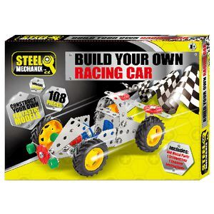 Build Your Car >> Science By Me Build Your Own Racing Car Set Officeworks