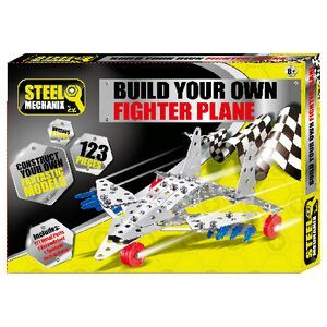 Science By Me Build Your Own Fighter Plane Set | Officeworks