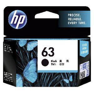 HP 63 Ink Cartridge Black