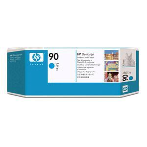 HP 90 Printhead and Printhead Cleaner Cyan | Officeworks