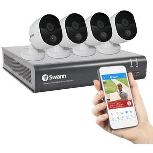 Swann 8 Channel 4 Camera Security System DVR8-4580V | Officeworks