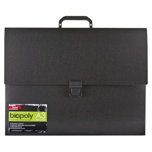 JASART ART CASE JASART A3 BIOPOLY BLACK ( EACH )