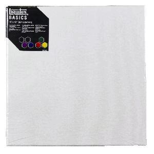 liquitex basics thin edge stretched canvas 10 x 10 officeworks