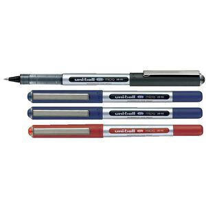 Uni-Ball Eye Micro Rollerball Pens orted 4 Pack | Officeworks