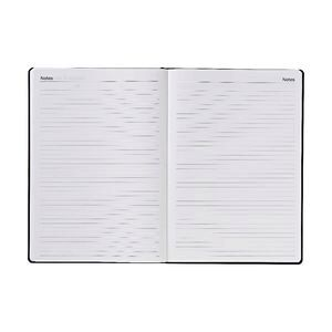 JBurrows A4 Week To View 2019 Hard Cover Diary Black