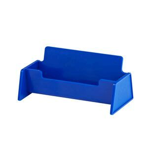 Jburrows business card holder blue officeworks jburrows business card holder blue reheart Image collections