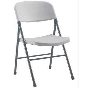 J Burrows Heavy Duty Folding Chair White Officeworks