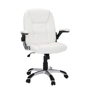 lincoln chair white officeworks