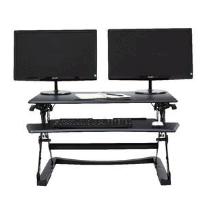 Professional Sit Stand Desk 1190mm Black