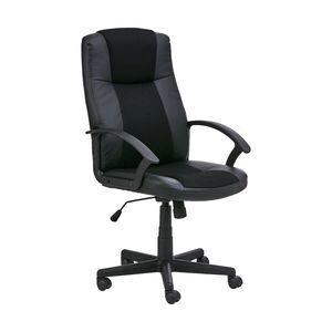Roma Chair Black Officeworks