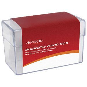 Deflect o business card storage box large officeworks deflect o business card storage box large reheart Gallery