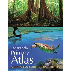 JACARANDA ATLAS JACARANDA PRIMARY 4TH EDITION ( EACH )