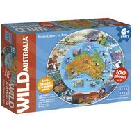 Jigsaw puzzles officeworks blue opal wild australia from desert to sea puzzle 100 piece gumiabroncs Gallery