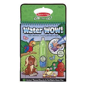 Melissa Doug On The Go Water Wow Book Animals Officeworks