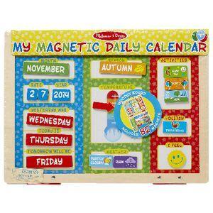 Melissa Doug My Daily Calendar Officeworks