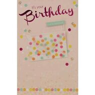 Birthday gift cards officeworks card couture birthday card confetti flag m4hsunfo