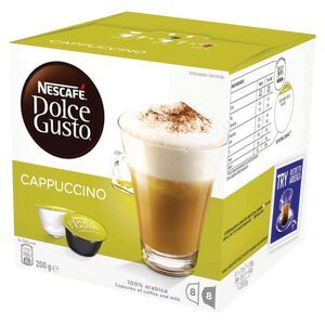 Nescafe Dolce Gusto Cappuccino Coffee Capsules 16 Pack Officeworks