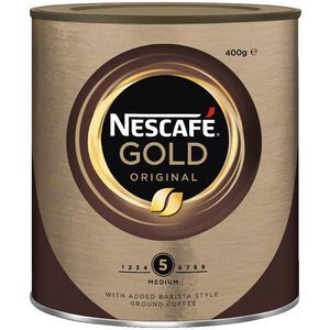 Nescafé INSTANT COFFEE NESCAFE 400G GOLD ORIGINAL ( EACH )