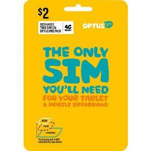 Optus $2 Mobile Broadband Triple SIM Starter Kit | Officeworks
