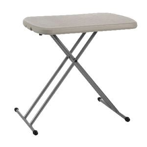 huge discount 89450 7c6ac Lifetime Personal Folding Table Almond White
