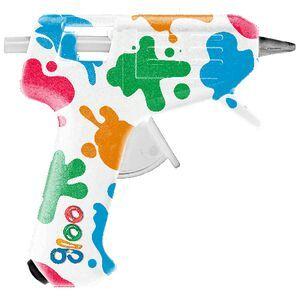 How to make a junk journal: Hot glue gun