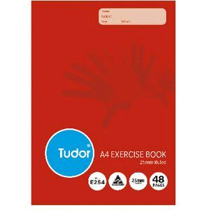 Tudor a4 exercise book 25mm ruled 48 pages officeworks tudor a4 exercise book 25mm ruled 48 pages reheart Images