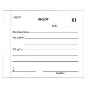 Olympic No.714 Carbonless Duplicate Cash Receipt Book | Officeworks