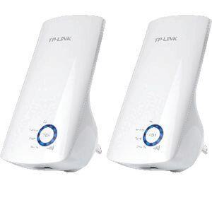 TP-LINK N300 Wireless Range Extender Twin Pack TL-WA850REKIT