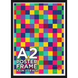 A2 poster frame black officeworks a2 poster frame black gumiabroncs Gallery