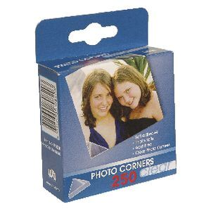 Lifestyle Brands Photo Corners Clear 250 Pack Officeworks